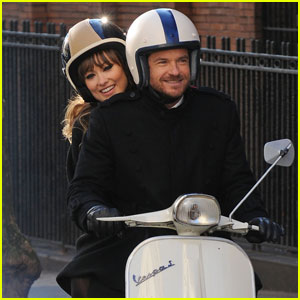 Olivia Wilde &#038; Jason Bateman: Vespa Ride in Brooklyn!