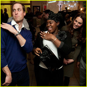 Prince William: Dancing Duke at Centrepoint!