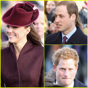 Prince William & Kate: Christmas Day Service!