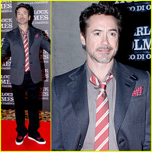 Robert Downey Jr.: 'Game of Shadows' Rome Premiere!