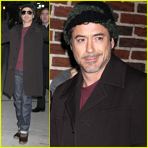 Robert Downey Jr.: Late Show with David Letterman!