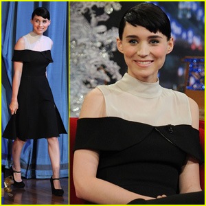 Rooney Mara: Late Night with Jimmy Fallon!