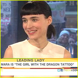 Rooney Mara: 'Today' Show Appearance!