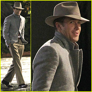 Ryan Gosling: 'Gangster Squad' Saturday with Josh Brolin