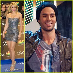 Shakira & Enrique Iglesias: 40 Principales Awards!
