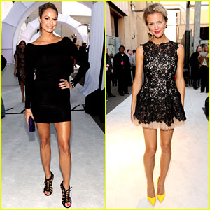 Stacy Keibler & Brooklyn Decker: Video Game Awards!