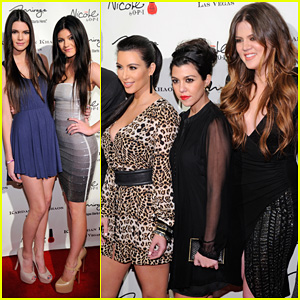 The Kardashian Family Celebrate Kardashian Khaos Opening