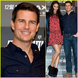Tom Cruise: 'Ghost Protocol' Press Conference in Korea!