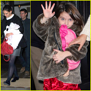 Tom Cruise &#038; Katie Holmes: Late Night Getaway with Suri!