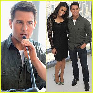 Tom Cruise: 'Ghost Protocol' Press Conference in Dubai!