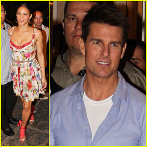 Tom Cruise: Brazilian BBQ With Paula Patton!