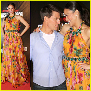 Tom Cruise & Paula Patton: 'Ghost Protocol' in