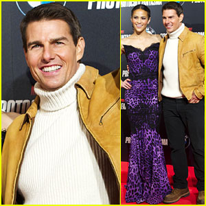 Tom Cruise & Paula Patton: 'Ghost Protocol' in Madrid!