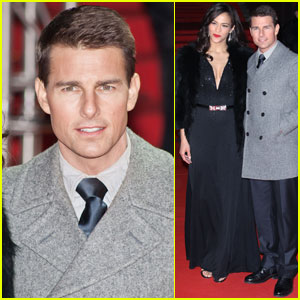Tom Cruise & Paula Patton: 'Ghost Protocol' in Moscow!