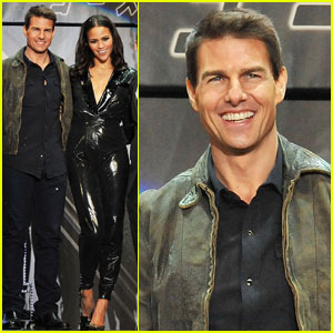 Tom Cruise: 'M:I - Ghost Protocol' Tokyo Premiere!