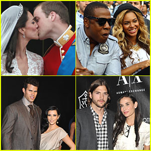 JustJared's Top Headlines of the Year