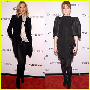 Uma Thurman & Julianne Moore: Wondrous for Waterford!