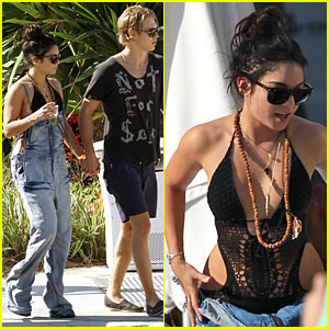 Vanessa Hudgens: Miami with Austin Butler!