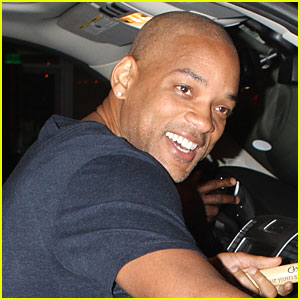Will Smith: Shaved Head in Miami!