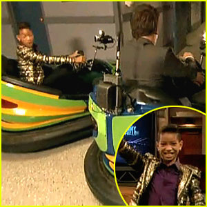 Willow Smith: Bumper Cars with Jimmy Fallon!