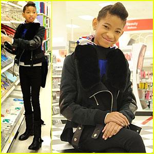 Willow Smith & Boys & Girls Club: Target Shopping Spree!