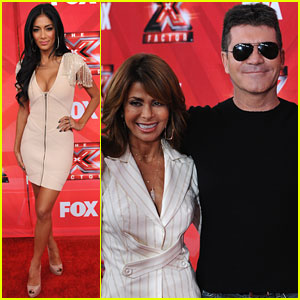 Nicole Scherzinger: 'X Factor' Press Conference!