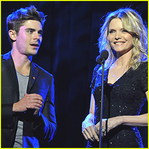 Zac Efron: Trevor Live! with Michelle Pfeiffer