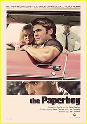Zac Efron & Nicole Kidman: 'The Paperboy' Poster Revealed!