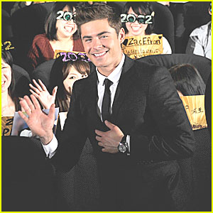 Zac Efron: 'New Year's Eve' in Japan!
