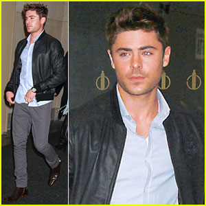 Zac Efron: Kissing Scene is The Best Part of 'NYE'!