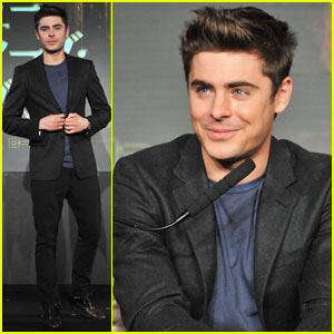 Zac Efron: 'New Year's Eve' Tokyo Press Conference!