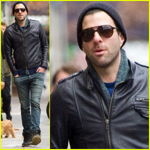 Zachary Quinto: 'I Thrive When I'm Busy'
