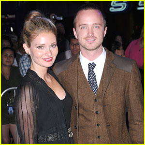 Aaron Paul Engaged to Lauren Parsekian - Exclusive