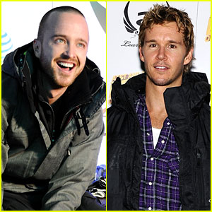 Aaron Paul & Ryan Kwanten Hit the Slopes!
