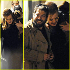 Adele & Simon Konecki: London Lovers!