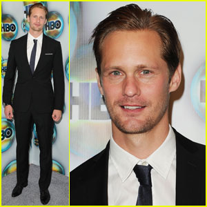 Alexander Skarsgard: HBO Golden Globes After Party