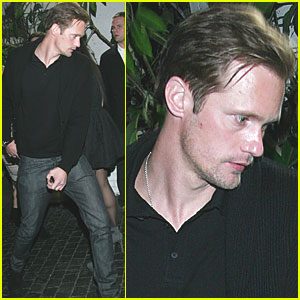 Alexander Skarsgard: 'W' Magazine Pre-Golden Globes Party!