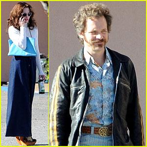Amanda Seyfried: 'Lovelace' Set with Peter Sarsgaard!