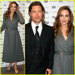 Angelina Jolie & Brad Pitt: 'Blood & Honey' DC Premiere!