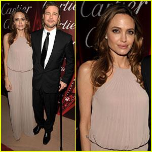 Angelina Jolie & Brad Pitt: Palm Springs Film Festival!