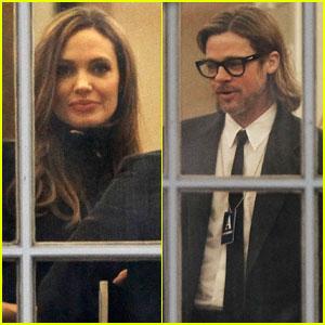 Angelina Jolie & Brad Pitt: White House Visit!
