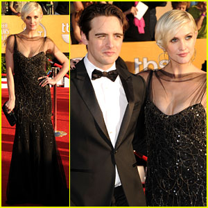 Ashlee Simpson & Vincent Piazza - SAG Awards 2012 Red Carpet