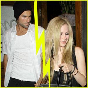Avril Lavigne & Brody Jenner Split