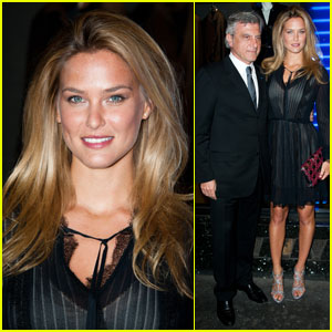 Bar Refaeli: Anselm Reyle for Dior Makeup Launch!
