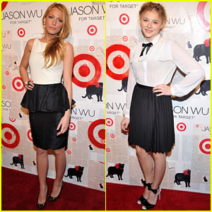 Blake Lively &#038; Chloe Moretz: Jason Wu Target Launch!
