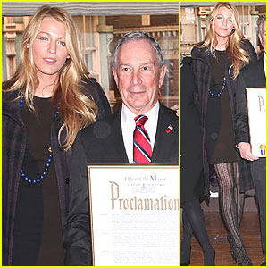 'Gossip Girl' Celebrates 100 Episodes with Mayor Bloomberg