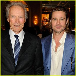Brad Pitt: AFI Awards with Clint Eastwood!