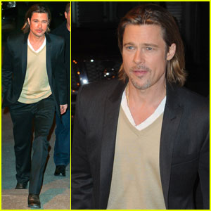 Brad Pitt: 'Inside the Actors Studio' With Jonah Hill!