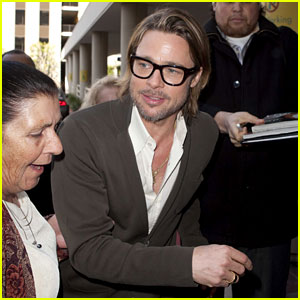 Brad Pitt: 'It's Nice When Everything Comes Together!'