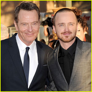 Aaron Paul & Bryan Cranston - SAG Awards 2012 Red Carpet